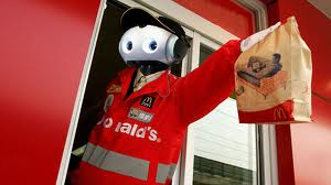 Robot Fast Food Worker